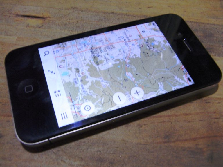 [地図] 古いスマホ向けオフライン地図の作成(iPhone4編)