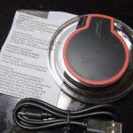 [レビュー] Qi規格対応の格安ワイヤレス充電器(K9-5W)