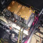 中華X79マザーボードでDual-CPUのPCを自作する