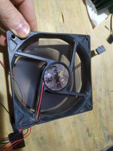 PCファン(120mm)の修理