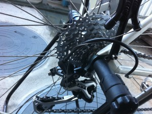 Specialized Sirrus Rear after(Deore XT)