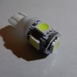 T10 LEDバルブ(Model number:#Z442C)のレビュー