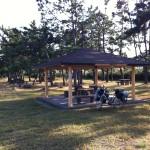 [自転車旅行] 2012/10/22:鳥取県東伯郡~境港市(境港公共マリーナ キャンプ場)