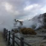 [自転車旅行] 2012/11/14:長崎県雲仙市~雲仙地獄(白雲の池キャンプ場)