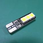 [レビュー] T10 LEDバルブ(2pcs/lot Bright Double No Error T10 LED 194 168 W5W Canbus 6 SMD 5050 LED Car Interior Bulbs Light Parking Width Lamps)