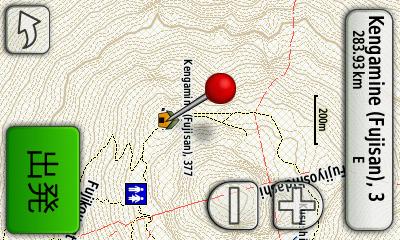 山歩きに使えそうなGPS用の等高線付き地図を自作する