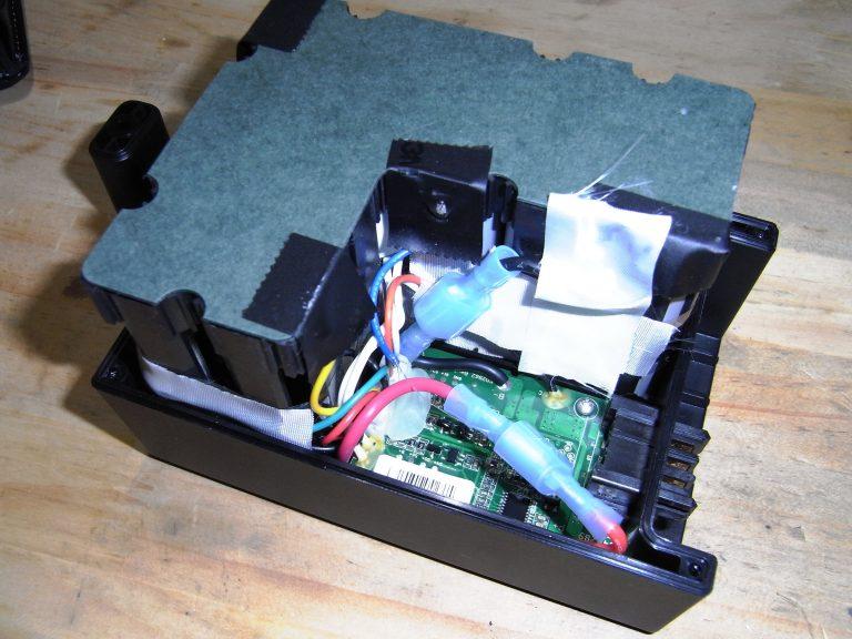 電動アシスト自転車バッテリパックの分解
